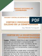 Costos e Indicadores de Calidad en La Construccion 2