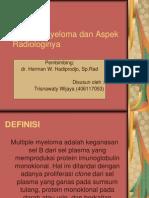 Multiple Myeloma Dan Aspek Radiologinya