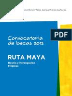 Becas Ruta Maya