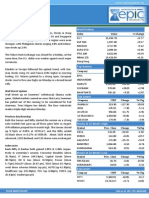 Special Report 17th- Sep- 2013 by Epic Research