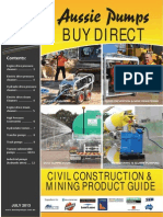 Civil Construction & Mining Brochure 2013