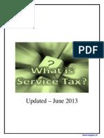 Understanding Service Tax Concepts-2013
