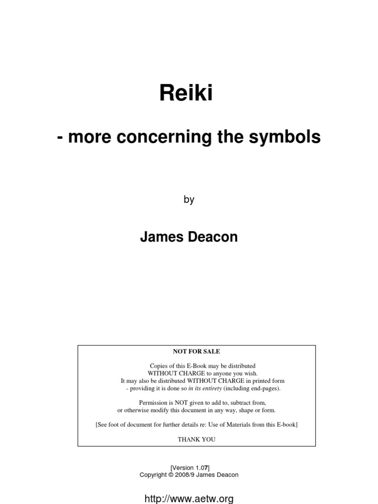 Reiki More Concerning The Symbols Reiki Mantra