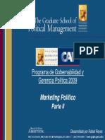 Marketing Político (Parte II)