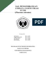 Proposal Usaha Jamur Tiram