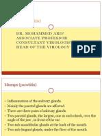 12- Mumps (Parotitis)