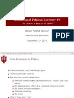 Lecture 5 Domestic Politics Trade
