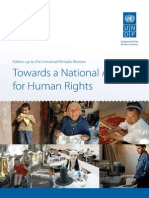 Towards a National Agenda for Human Rights