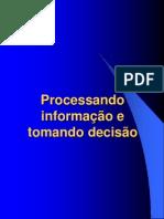 Processamento de Informacao e Tomada de Decisao
