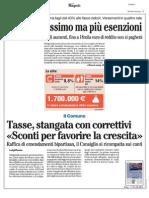 Rassegna Stampa 17.09.2013