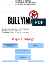 Bullying no ambiente escolar