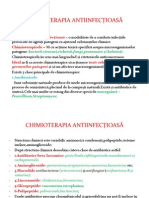Lis24chimioterapia AntiinfecȚIoasĂ
