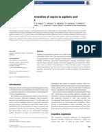 ASID Splenectomy Guidelines 2008