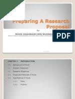 Preparing a Research Proposal UiTM
