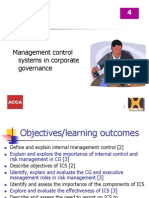 Internal Control & Review