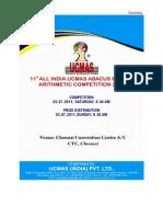 Ucmas_11th All India Competition - Circular - Karnataka State