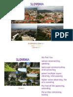 September 2013 - Slovenia Sensory Journey