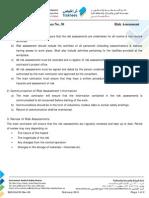 GL 30 Risk Assessment