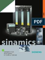 Sinamics Catalogue d21.1 2006