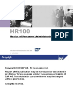 Hr100_basics of Personnel Administration