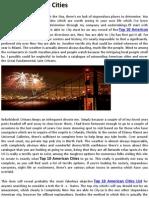 Top 10 American Cities
