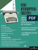 Curs Escriptura Creativa 2013