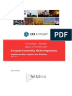 European Regulations Report - Implementation, Impacts and Solutions