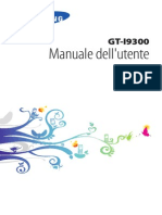 Manuale Galaxy s3 Italiano