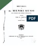 Enrico Suso - Opere