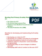 e-Safety Policy 2013 .doc