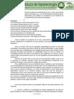 2010-07-10 Acta constitución Comisión Topografía FAE