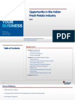 Opportunity in the Indian Fresh Potato Industry_Feedback OTS_2013