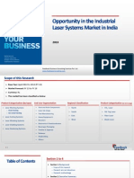 Opportunity in the Industrial Laser Systems Market in India_Feedback OTS_2013