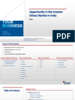 Opportunity in the Inverter Drives Market in India_Feedback OTS_2013