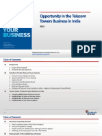 Opportunity in the Telecom Towers Business in India_Feedback OTS_2013