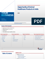 Opportunity of Animal Healthcare Products in India_Feedback OTS_2013