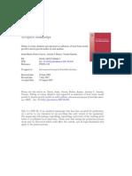 Ergosterol and Colony Diameter