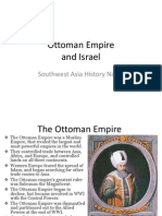 ottoman empire and israel