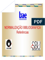 Normalização Bibliografica para Referências