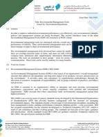 Guideline No. en - 017 Environment Guidelines