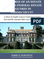 How Large of an Estate Can Pass Tax Free in Connecticut?
