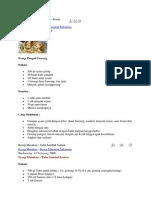 Resep Masakan Indonesiadocx