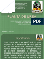 Planta de Urea