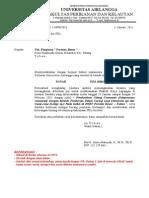 Contoh Surat Ijin PKL 2