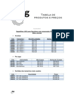 JGG - Tabela Dezembro 2012