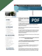 Presentation de l'Umoa Et de La Commission Bancaire