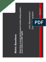 Metric Baselines (Slides)