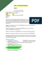 Examen Nacional 2013 - Cultura Politica