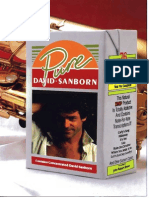 David Sanborn [Pure David Sanborn] - BOOK