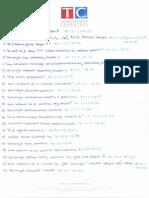 Linearna Algebra 1 - Eliminacijska pitanja i odgovori